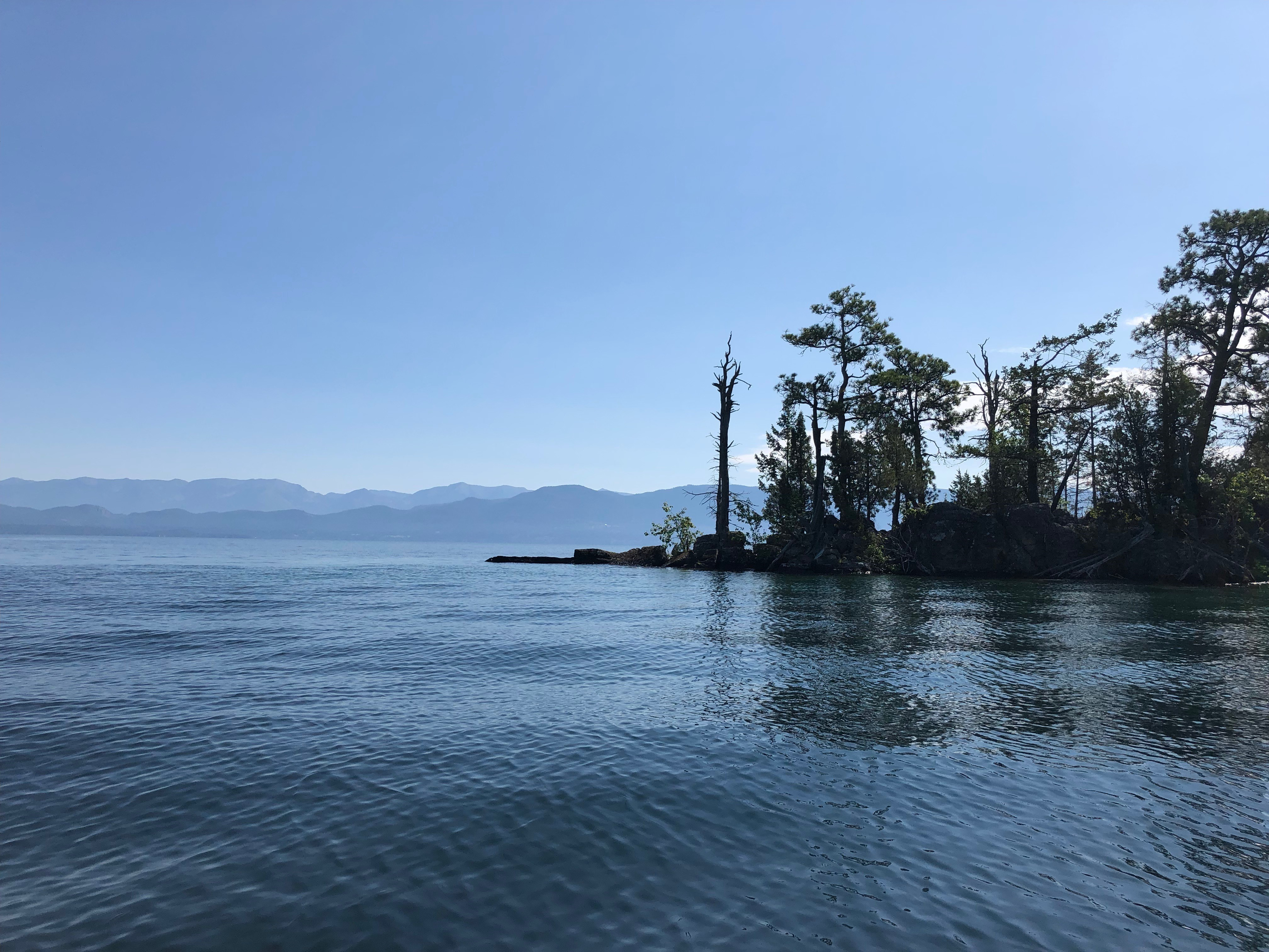 Flathead Lake from Camp Shore